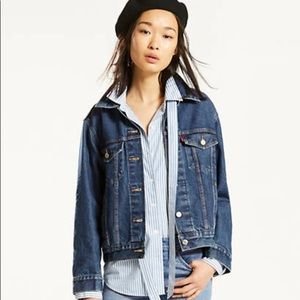 Jackets & Blazers - Levi's Ex-Boyfriend Denim Jacket Jean Jacket